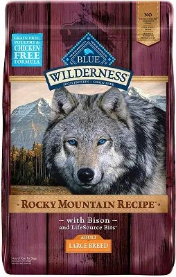 Blue Buffalo Wilderness Rocky Mountain Natural Adult Large Breed Food