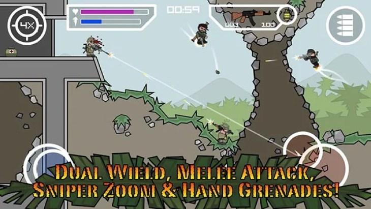 Mini Militia - Doodle Army 2 screenshot 1