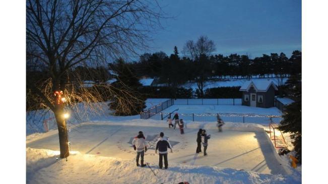 ice skating rink at home