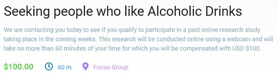 Respondent.io Alcoholic Study