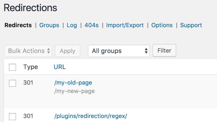 Yeniden Yönlendirme WP Eklentisi - WordPress için En İyi SEO Eklentileri