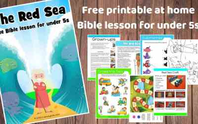 Joseph - Free printable at home Bible lesson for under 5s