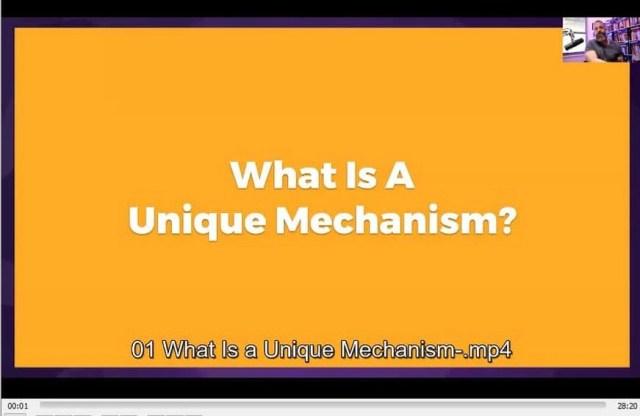 Unique Mechanism Workshop By Todd Brown buy