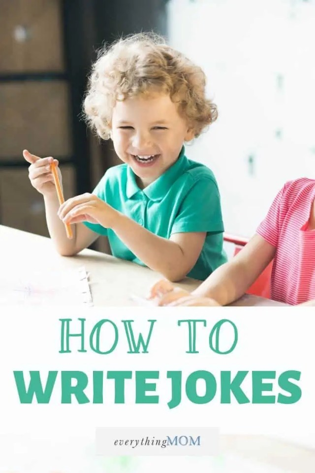 How to Write a Joke: Activity for Parents and Kids  EverythingMom