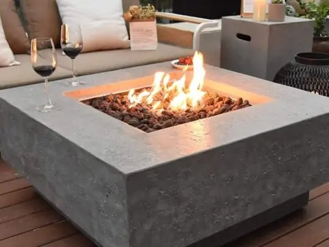 stylish fire pit tables for your