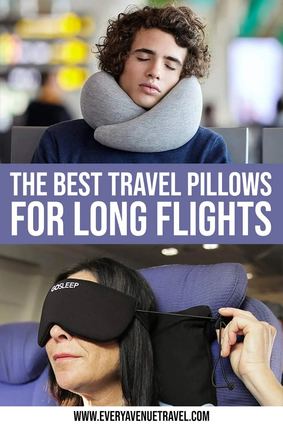 travel pillows for every type of traveler