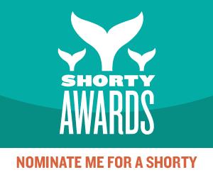 Nominate Jayne Read for a social media award in the Shorty Awards!