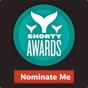 Nominate Nora Lamarti  for a social media award in the Shorty Awards!
