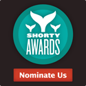 Nominate @NomDuJour in the Shorty Awards!