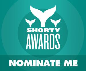 Nominate backstreetboys for a social media award in the Shorty Awards!