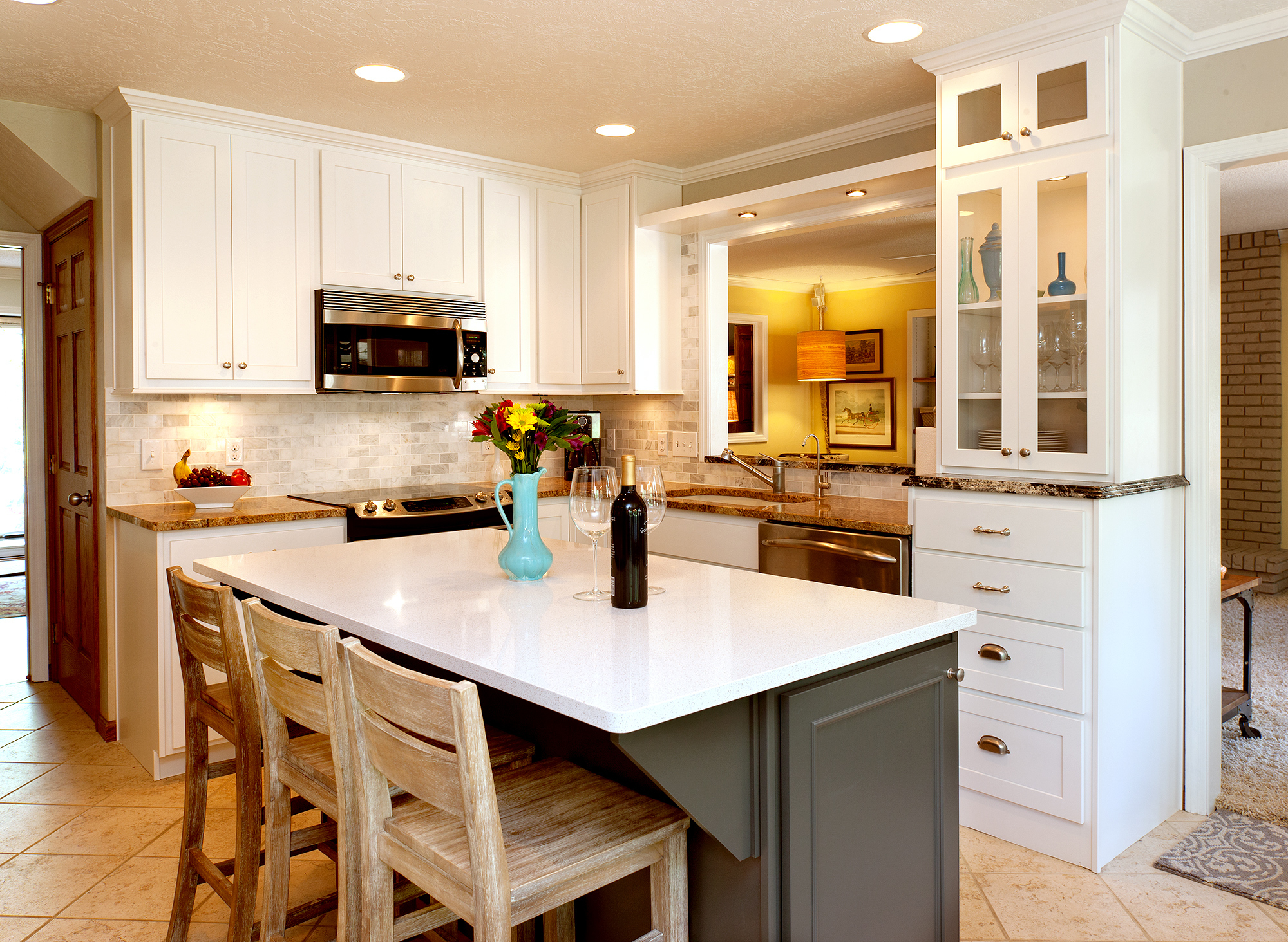 View This Crisp Refaced Kitchen Showplace Cabinetry