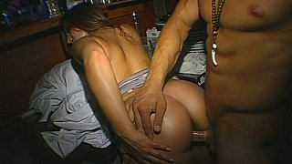 Bent over and fucked on her_birthday party image
