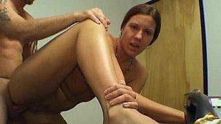 Amateur office girl fucking on_camera image