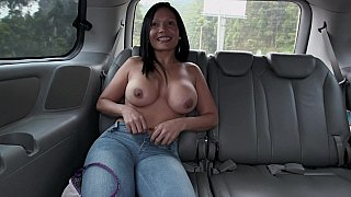 Colombian ass in Colombian bus image