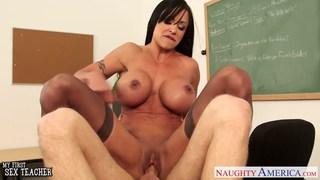 Image: Beauty sex teacher Jewels Jade fucking in classroo