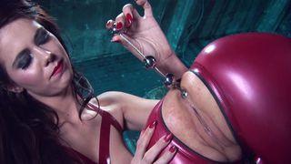 Lesbian latex bimbos love sexual insertions image