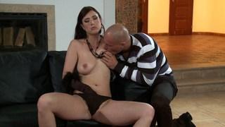 Having fun with Bijou's big tits image