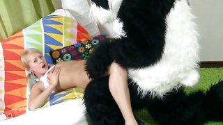 Pillow fight and xxx_sex play image