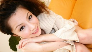 Rina Koizumi Lovely Asian model is getting her_hairy pussy_licked image