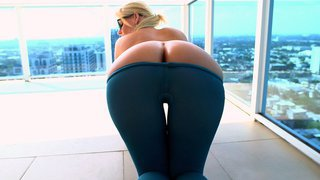 Phoenix Marie gets her big ass worshipped on the balcony image