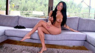 Anissa Kate posing nude and showing her sexy curves image