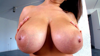 Image: Sensual Jane gets her big natural tits worshipped