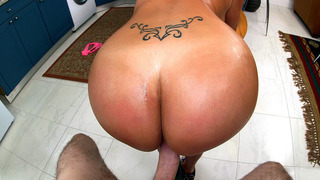 Big butt MILF Vanessa Luna gets her pussy fucked doggy style image