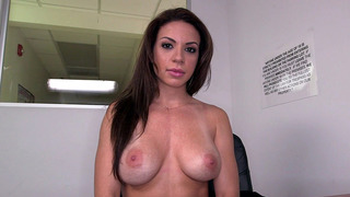 Kylie Rogue teases as she shows her perfectly_shaped tits image