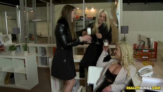 Image: Lesbian Office Play
