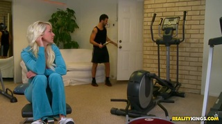A personal trainer for their daughter image