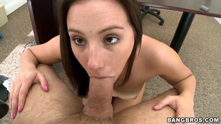 Young amateur Taylor Bell has_arousing interview image