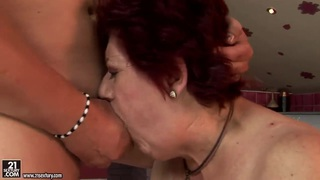 Image: Old Hetty is looking for a young sexy playmate