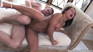 Sandra Romain being fucked so hard, just as she wants to be fucked! image