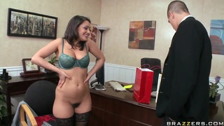 Charley Chase signs the fucking agreement with Bruce Venture image