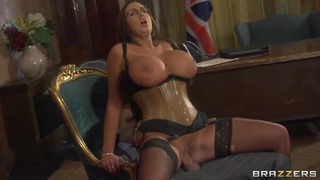 Busty brunette Emma Butt seduces young and perspective politician Danny D image