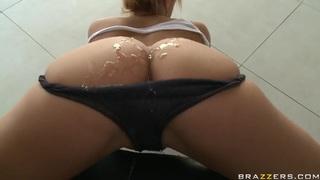 Milf_with_big_ass_Shyla_Stylez_gets_dildo_into_the_anus image