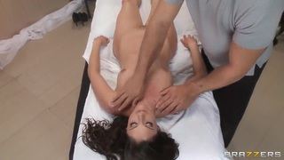Image: Samantha is in major need of an erotic massage by handsome Ramon