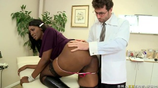 Anal Coverage by James Deen and sexy Nyomi Banxx image