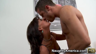 Sexy hot mom Sarah Bricks feels so good on the cock! image