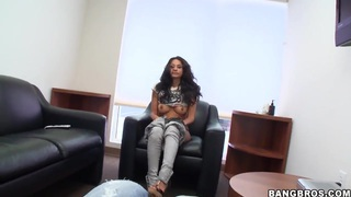 Cassidy loves to suck and fuck at work, pleasing horny colleagues image
