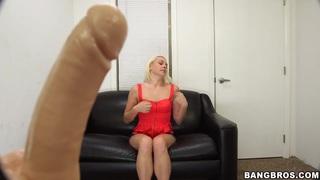 Image: Ashley Stone faces an AI possessing dildo