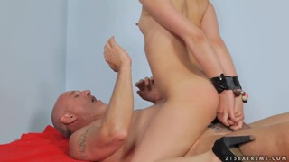 Crazy Jalace getting penetrated in_all her young holes image
