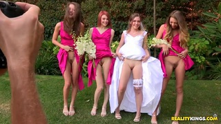 Sweet porno wedding with Aurielle and her palsies image