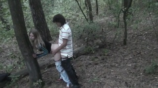 Angelina in blowjob and sex in homemade porn filmed_in nature image