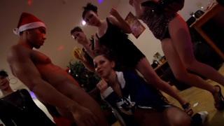 Danaya & Gillian & Mya Dark & Josie & Keeley & Anjelica & Melody & Mikaela & Chloe Blue & Selena & Netta & Tracy in sexy college fuck video with lots of slutty bimbos image