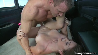 Hottie Does Anal on the BangBus image