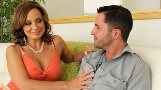 Rebecca Bardoux & Kris Slater in My Friends Hot Mom image