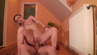 Image: Anka in slut gets fucked hard in a hot amateur video
