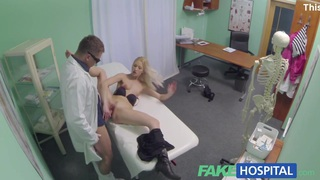 Fake Hospital Hot blonde gets the full doctor treatment image
