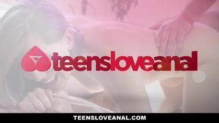 TeensLoveAnal - Nerdy Virgin_Sodomized image